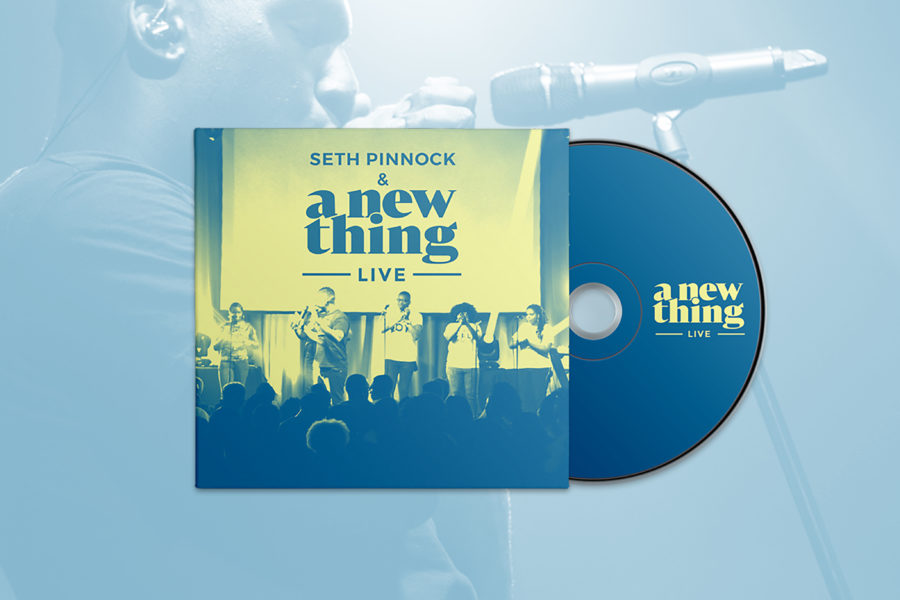 Pre Order A NEW THING LIVE